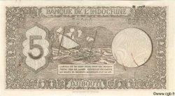 """5 Francs """"Palestine"""" DJIBOUTI  1945 P.14s SPL"""