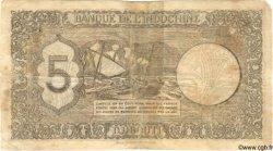 5 Francs Palestine DJIBOUTI  1945 P.14 B+