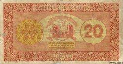 20 Francs Palestine DJIBOUTI  1945 P.15 B+
