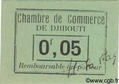 0,05 Franc DJIBOUTI  1919 P.21 NEUF