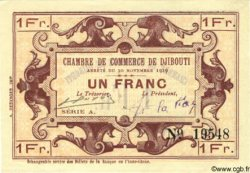 1 Franc DJIBOUTI  1919 P.24 pr.NEUF