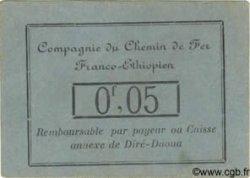 0,05 Franc DJIBOUTI  1919  SUP