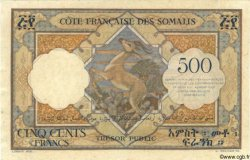 500 Francs DJIBOUTI  1952 P.27 SUP