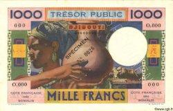 1000 Francs DJIBOUTI  1952 P.28s