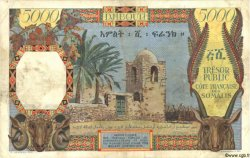 5000 Francs DJIBOUTI  1952 P.29 TTB