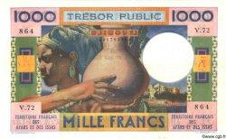 1000 Francs AFARS ET ISSAS  1974 P.32 TB