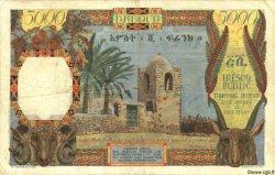 5000 Francs AFARS ET ISSAS  1969 P.30 TTB