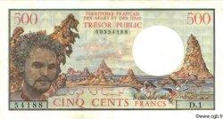 500 Francs AFARS ET ISSAS  1975 P.33 TTB+