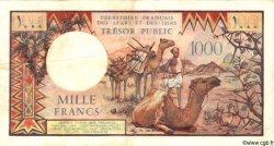 1000 Francs DJIBOUTI  1975 P.34 TTB+