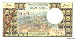 5000 Francs DJIBOUTI  1975 P.35 SPL+
