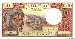 1000 Francs DJIBOUTI  1979 P.37a NEUF
