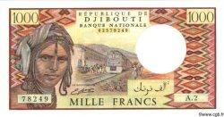 1000 Francs DJIBOUTI  1988 P.37b NEUF