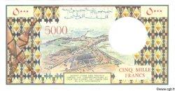 5000 Francs DJIBOUTI  1988 P.38b NEUF