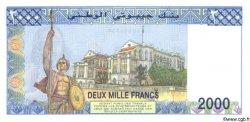 2000 Francs DJIBOUTI  1997 P.40