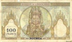 100 Francs NOUVELLES HÉBRIDES  1941 P.09a B+