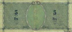 5 Francs NOUVELLES HÉBRIDES  1943 P.01 TTB+