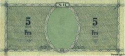 5 Francs NOUVELLES HÉBRIDES  1943 P.01 SUP