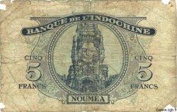 5 Francs NOUVELLES HÉBRIDES  1945 P.05 AB
