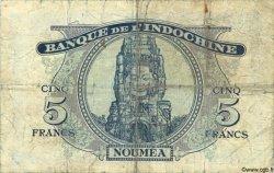 5 Francs NOUVELLES HÉBRIDES  1945 P.05 pr.TB