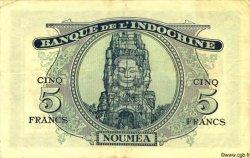 5 Francs NOUVELLES HÉBRIDES  1945 P.05 TTB+