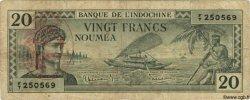 20 Francs NOUVELLES HÉBRIDES  1945 P.07