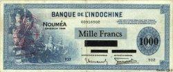 1000 Francs NOUVELLES HÉBRIDES  1944 P.13 TTB