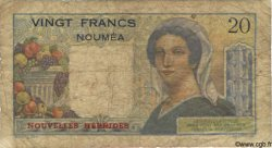 20 Francs NOUVELLES HÉBRIDES  1945 P.08a B