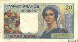 20 Francs NOUVELLES HÉBRIDES  1945 P.08a TB+