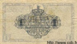 1 Krone DANEMARK  1918 P.012d TTB+
