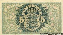 5 Kroner DANEMARK  1918 P.020 TTB+