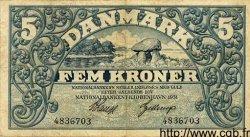 5 Kroner DANEMARK  1931 P.025 TTB