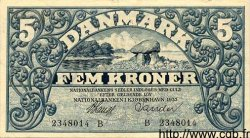 5 Kroner DANEMARK  1933 P.025 SUP