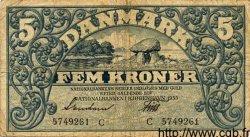5 Kroner DANEMARK  1935 P.025 pr.TB