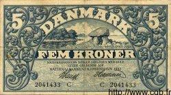 5 Kroner DANEMARK  1935 P.025 TTB