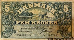 5 Kroner DANEMARK  1935 P.025 TB