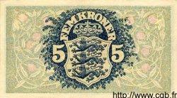 5 Kroner DANEMARK  1935 P.025 SUP