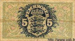 5 Kroner DANEMARK  1936 P.025 TB+ à TTB