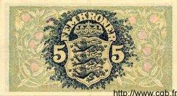 5 Kroner DANEMARK  1937 P.030a SUP