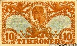 10 Kroner DANEMARK  1919 P.021h