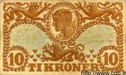 10 Kroner DANEMARK  1935 P.026 TB