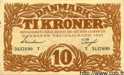 10 Kroner DANEMARK  1943 P.031
