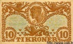 10 Kroner DANEMARK  1943 P.031 TB+