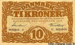 10 Kroner DANEMARK  1943 P.031o SUP