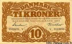 10 Kroner DANEMARK  1943 P.031 SUP+