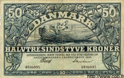 50 Kroner DANEMARK  1935 P.027 TB à TTB