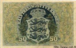 50 Kroner DANEMARK  1936 P.027 pr.TTB