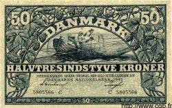 50 Kroner DANEMARK  1942 P.032 pr.NEUF