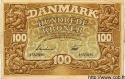 100 Kroner DANEMARK  1935 P.028 TTB
