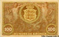 100 Kroner DANEMARK  1943 P.033d SUP