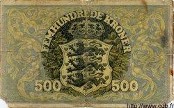 500 Kroner DANEMARK  1941 P.034 B à TB